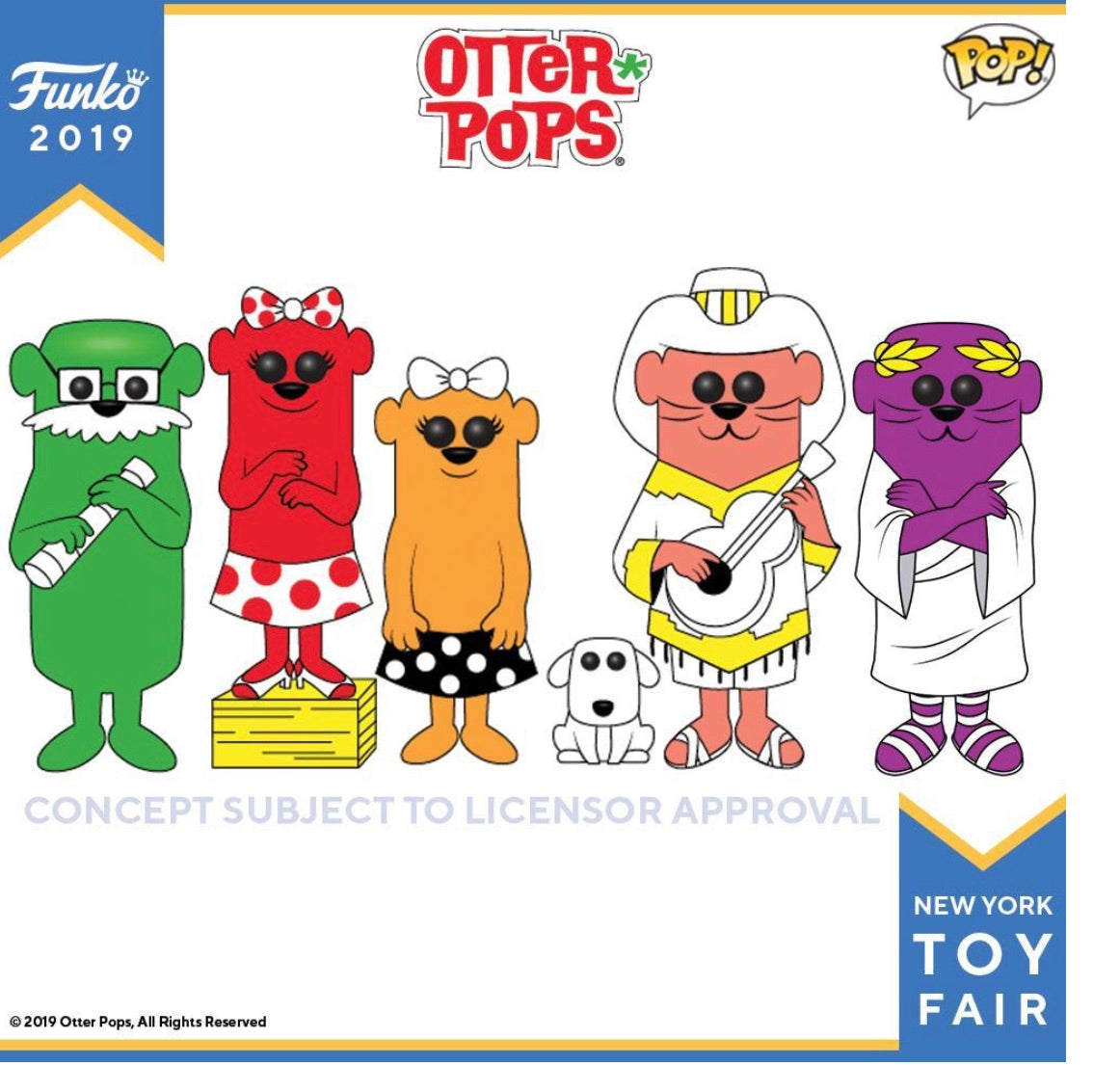 PRE-ORDER - POP! Otter Bundle of 5