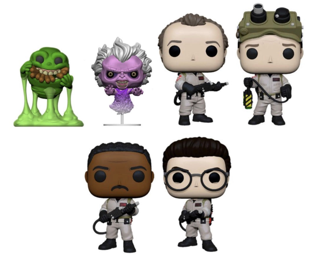 (Preorder) Pop! Movies: Ghostbusters - Bundle