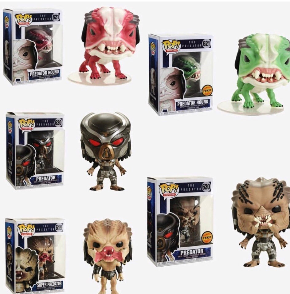 Pop! Movies: Predator - Bundle