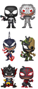 VENOM FUNKO POP! VENOMIZED COMPLETE SET OF 6 (PRE-ORDER)