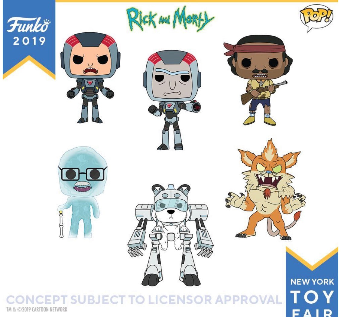 PRE-ORDER - POP! Rick and Morty Bundle of 6