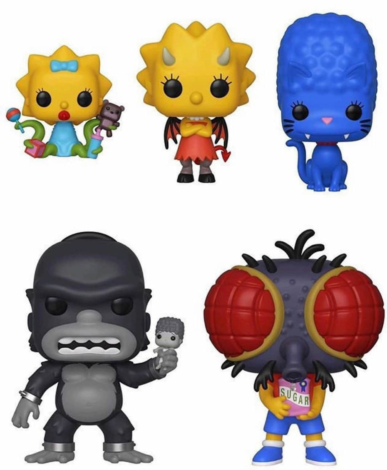 THE SIMPSONS - TREEHOUSE OF HORROR POP! VINYL BUNDLE (SET OF 5)(PREORDER)