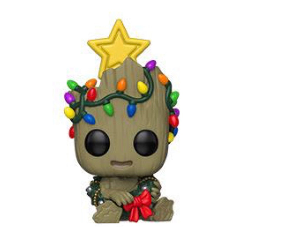 MARVEL FUNKO POP! GROOT (HOLIDAY LIGHTS) (PRE-ORDER)
