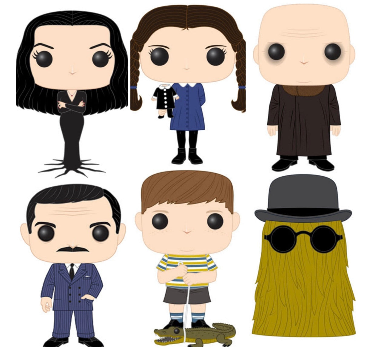 PRE-ORDER - POP! Addams Family Bundle of 6