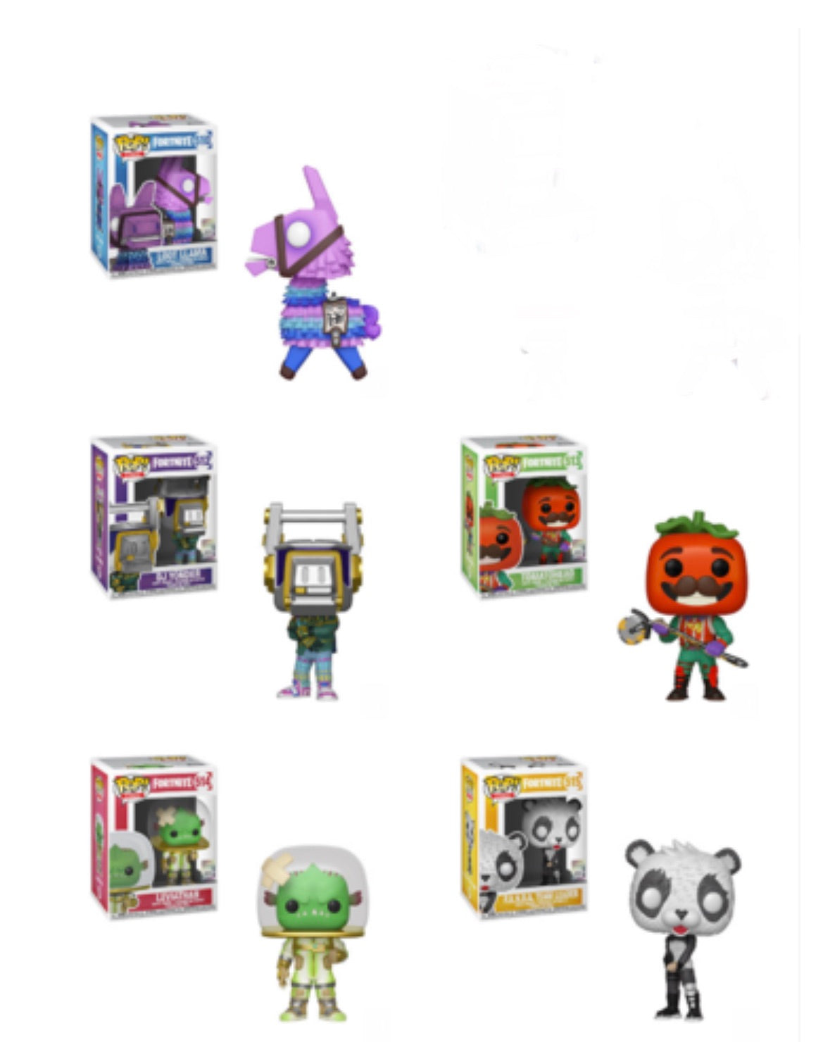 PRE-ORDER - POP! Games: Fortnite Bundle of 5