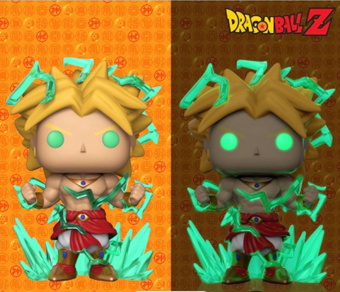 "DRAGON BALL Z - SUPER SAIYAN 2 BROLY SUPER SIZED 6"" POP! VINYL (Preorder)"