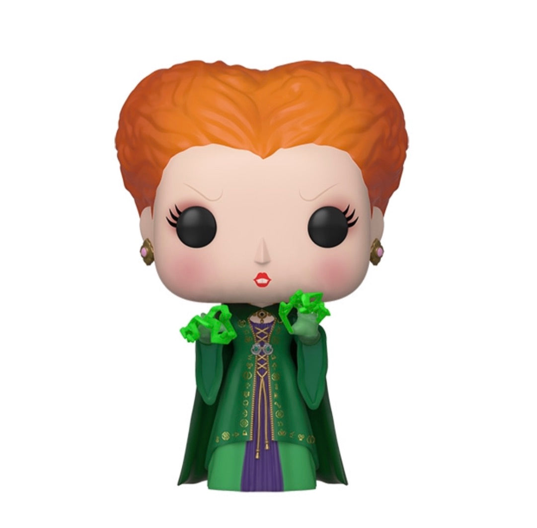 HOCUS POCUS FUNKO POP! WINIFRED (GITD WITH MAGIC) (PRE-ORDER)