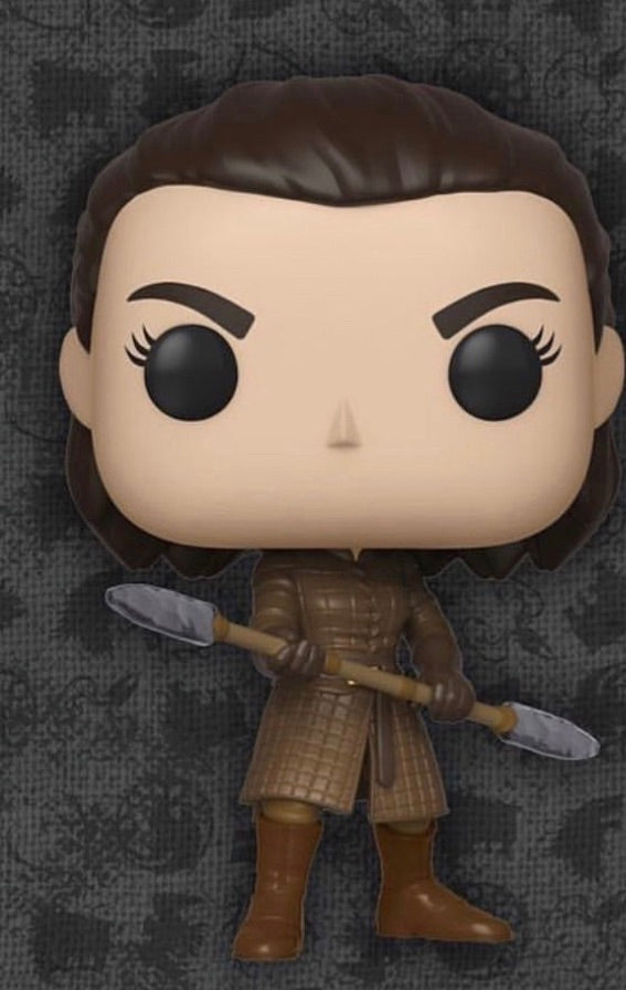 Pop! Arya with her two headed spear (Preorder)