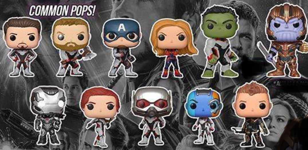 (Preorder) Avengers Endgame-11 Pop! Bundle