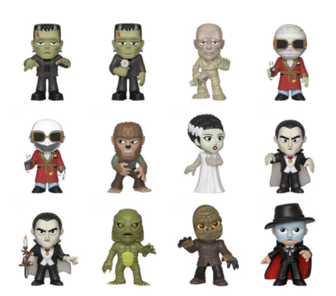 UNIVERSAL MONSTERS FUNKO MYSTERY MINI BLIND BOX - 12 UNIT DISPLAY BOX (PRE-ORDER)