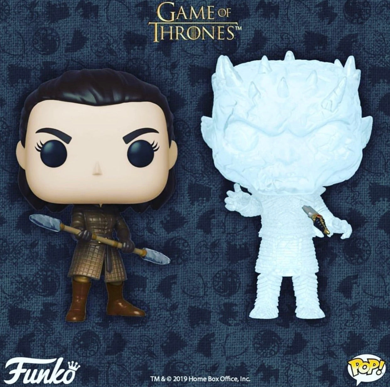 PRE-ORDER -POP!Game of Thrones Battle for Winterfell! Bundle of 2