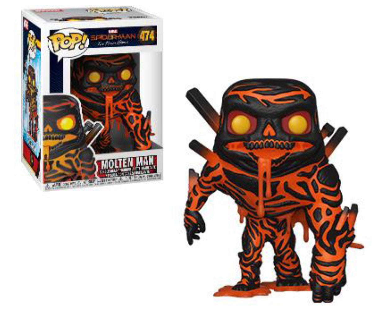 SPIDER-MAN: FAR FROM HOME FUNKO POP! MOLTEN MAN #474 (PRE-ORDER)