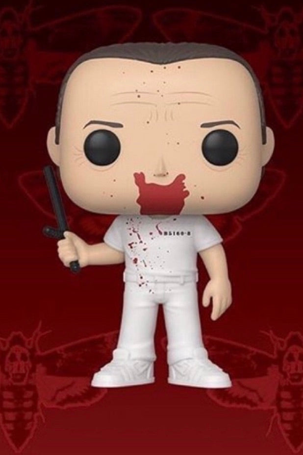 PRE-ORDER - 07/2019 POP! Movies: Silence of the Lambs, Hannibal Bloody