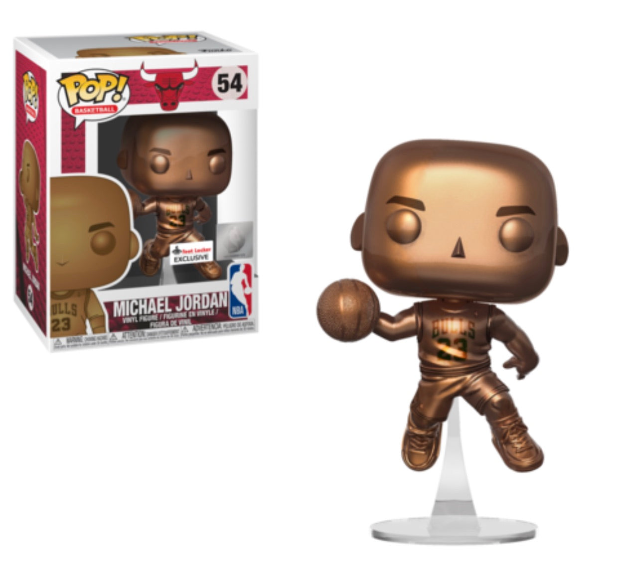 Preorder Funko Pop! Michael Jordan Chrome (Footlocker Exclusive)