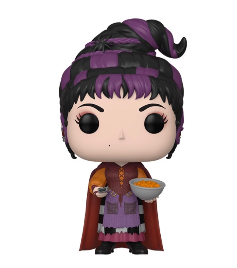 HOCUS POCUS FUNKO POP! MARY (WITH CHEESE PUFFS) (PRE-ORDER)