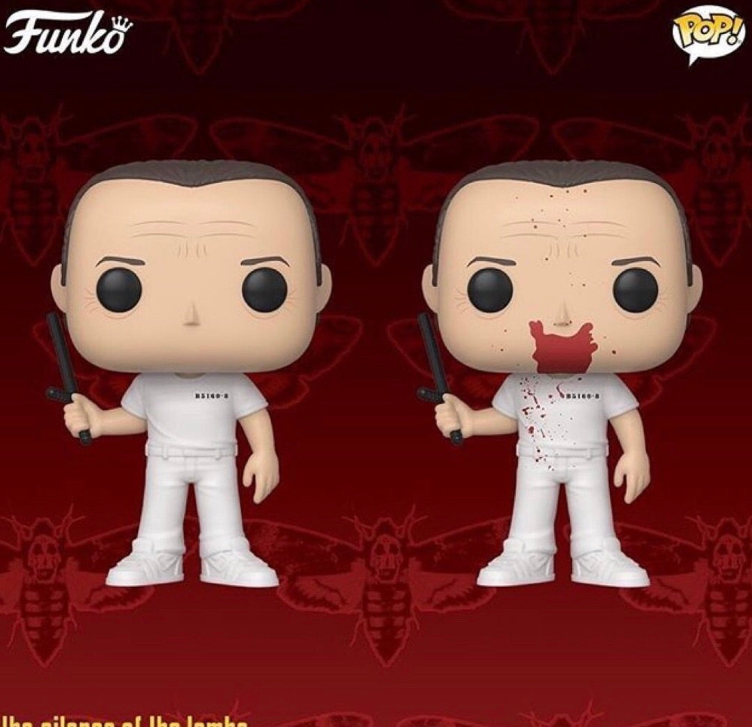 PRE-ORDER - POP! Movies: Silence of the Lambs, Hannibal Bundle of 2