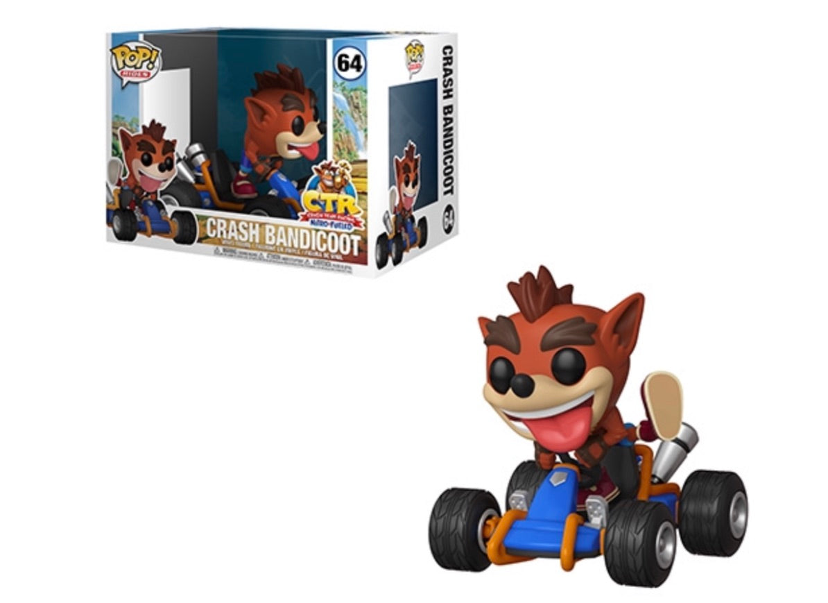 POP! RIDES: CRASH TEAM RACING - CRASH BANDICOOT(PREORDER)