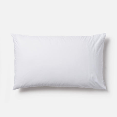 pair of egyptian cotton pillowcases - white