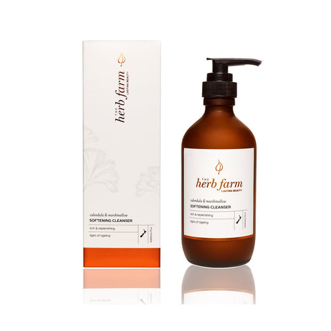 calendula + marshmallow softening cleanser by The Herb Farm