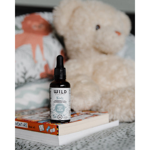 rest and calm tonic for kids by wild dispensary