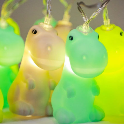 baby dinosaur string lights - battery operated