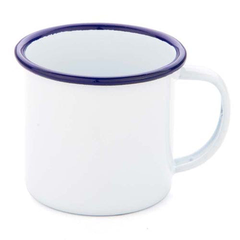 falcon enamel mug - blue and white