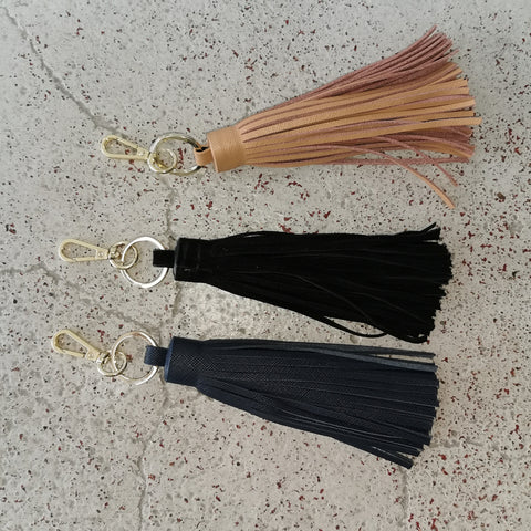 leather tassle