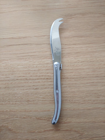 short stainless steel cheese knife by Laguiole
