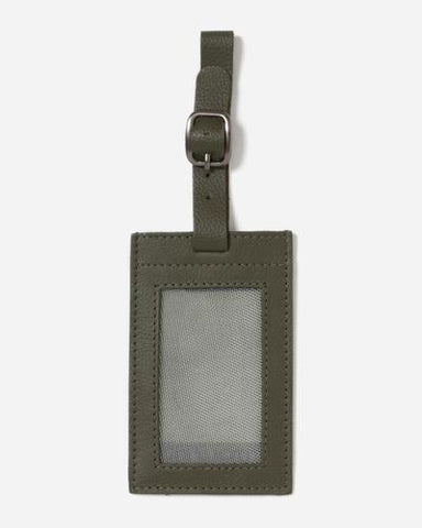 leather luggage tag from stitch and hide