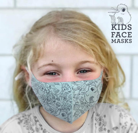 kuwi kids face mask set of 2