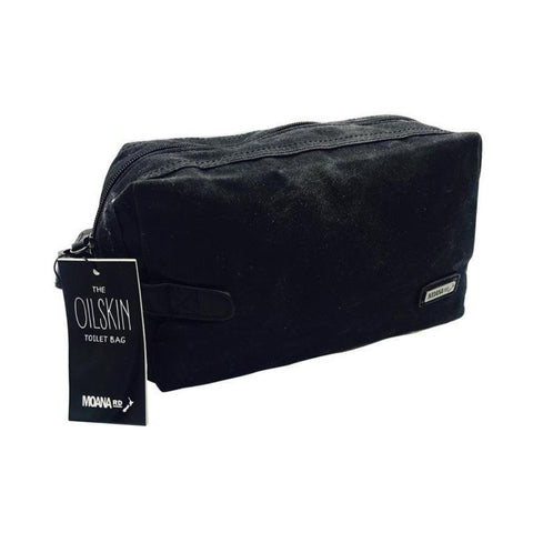 oilskin toiletry bag