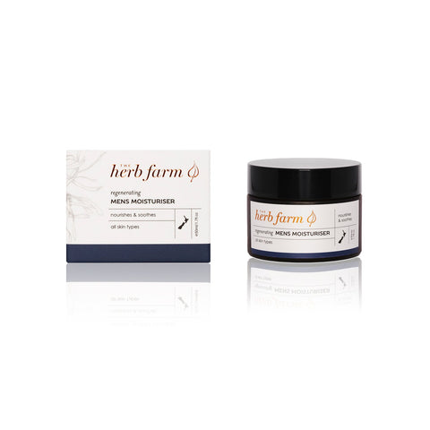 regenerating mens moisturiser by The Herb Farm