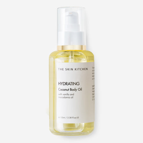 hydrating body oil by The Skin Kitchen