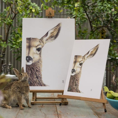 Willow II Fawn print by Nikki McIvor