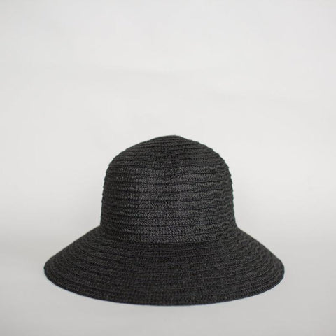 black so shady hat by Sophie