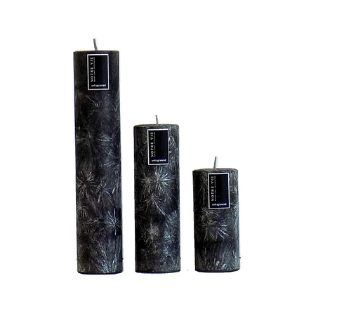 slim saison black -medium- candle by Notre Vie