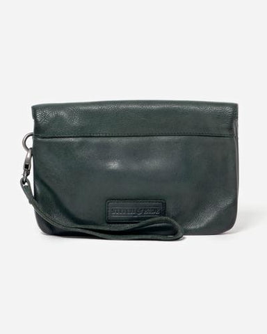 munich leather pouch from stitch and hide