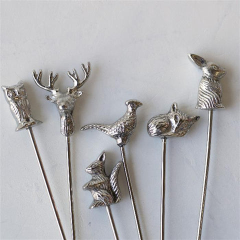 Woodland Swizzle Sticks