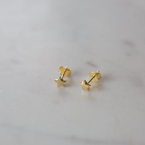 gold twinkle studs from Sophie