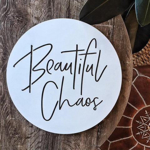 beautiful chaos - white
