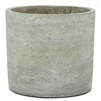 plain cement pot 14cm