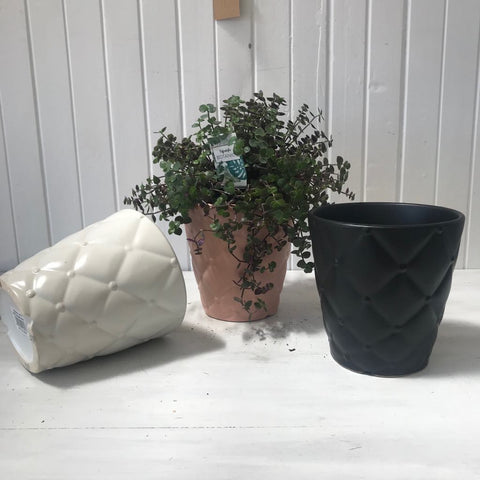 ceramic pot cushion pattern