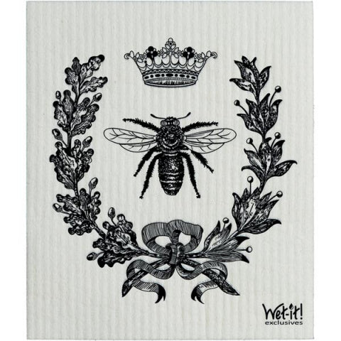 french bee dish cloth