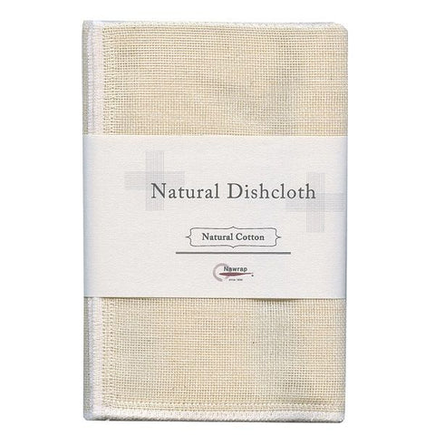 nawrap natural dish cloth - cotton