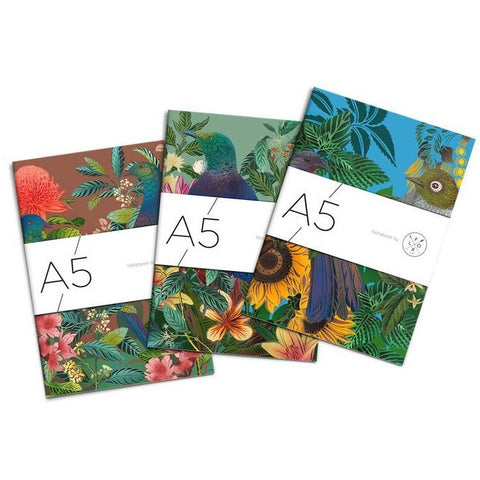 flox A5 set of 3 notebooks