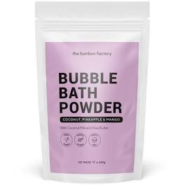bubble bath powder
