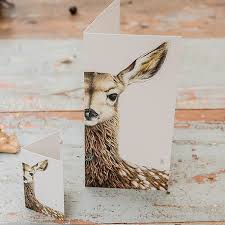 WILLOW THE FALLOW FAWN card