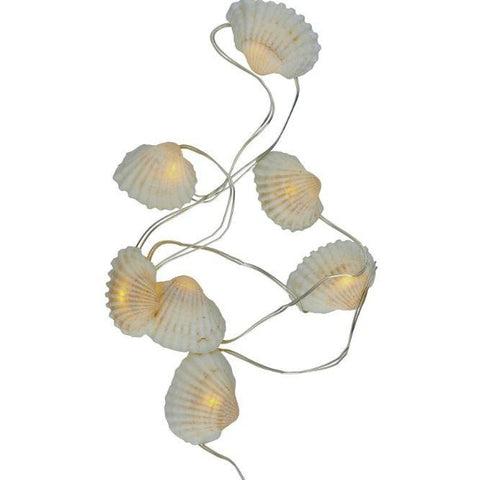 shelly seashells seed lights - large