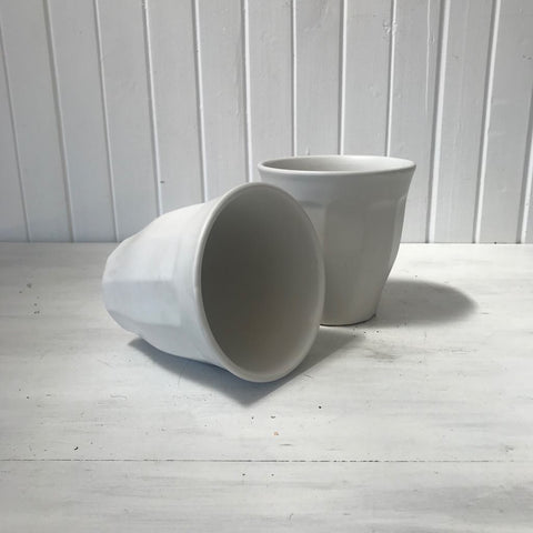 ceramic latte pot