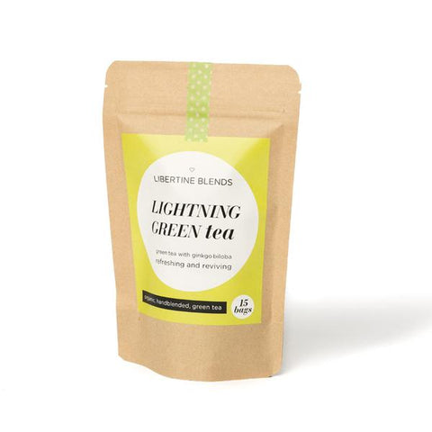 organic tea - lightning green 20g